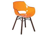 Кресло Opal Wox Iroko на деревянных ножках