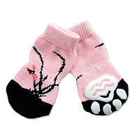 Носки антискользящие для собак, Dobaz  Сакура