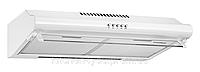 Pyramida WH 22-60 white/N (600 мм.) двухмоторная, плоская кухонная вытяжка, белая эмаль