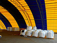 Строительство металло-тентовых конструкций, складов