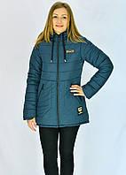 Стёганная  куртка со вшитым капюшоном