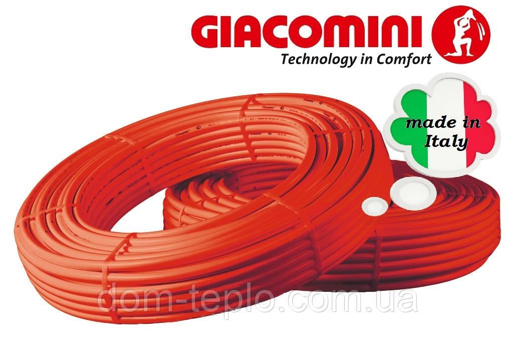 Труба для теплого пола из сшитого полиэтилена Giacomini PE-X Giacotherm 16x2 R996T 16х2,0