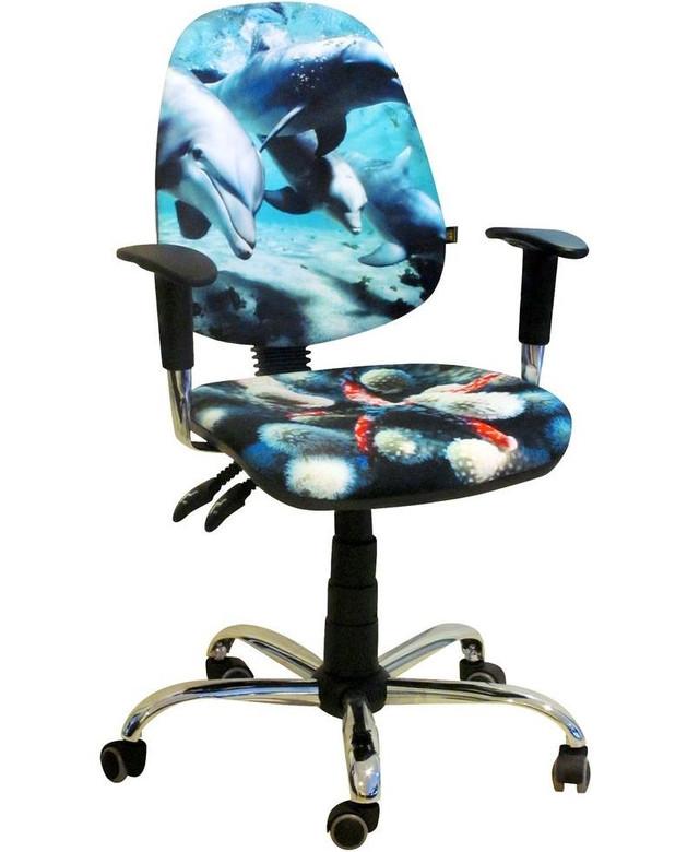 Кресло Бридж Хром Дизайн 5-Дельфины.