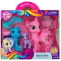 Пони - игровой набор из 3ех пони из мультика Мой маленький пони
