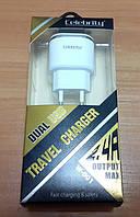 Зарядное устройство, зарядка, боченок Celebrity W-001 2400mAh (2 USB)