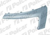 Накладка (ресничка) фары правая Fiat Scudo, Peugeot Expert, Citroen Jumpy 2007- не оригинал