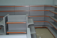 Новый стеллаж торговый в магазин при АЗС. Стеллаж для магазина автозапчастей. Торговое WIKO (ВИКО)