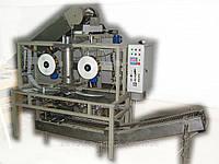 Автомат УАСП-02 АВАНПАК для упаковки в сетку с обандероливанием