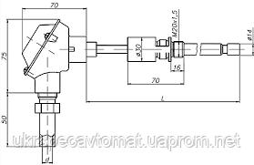 Преобразователь термоэлектрический ТХА-2588, ТХК-2588, фото 2