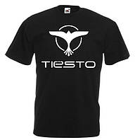 "Футболка ""Tiesto"". Футболка ""Тиесто"". Клубная футболка"