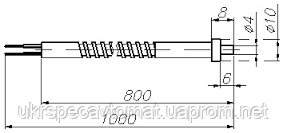 Преобразователь термоэлектрический ТХК-2688, фото 2