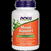 Витамины для поддержки нервной системы и хорошего настроения, Now Foods, Mood Support, 90  капсул