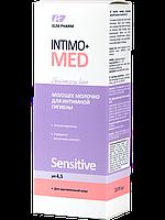 Молочко для інтим. гіг. Elfa Pharm 200мл Intimo+med Sensitive (5901845500388)