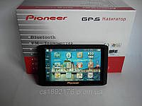 "5"" GPS навигатор Pioneer HD - 4Gb+AV-in+BT+FMT"