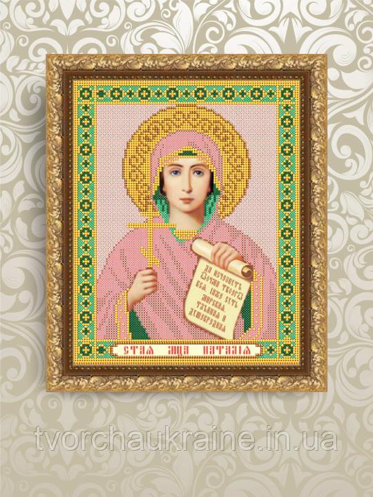 Авторская канва для вышивки бисером «Святая Мученица Наталья»