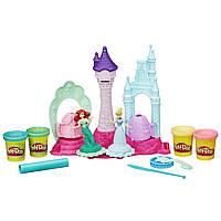 Игровой набор Play-Doh Королевский замок Русалочка и Золушка Play-Doh Royal Palace Disney Princess