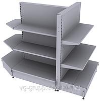 Стеллажное торговое оборудование для оснащения аптек. Мебель для аптечных супермаркетов  WIKO