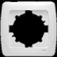 Рамка одноместная белая Viko (Вико) Carmen (90571001)