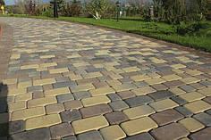 Тротуарная плитка «Старый город» 6 см