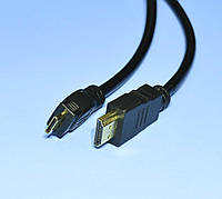 Шнур шт.HDMI - шт.mini HDM  d-6мм 1.5м  5-0544