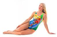 Спортивный женский купальник с поддержкой живота и груди