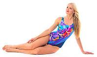 Купальник для бассейна женский красивый RIVAGE LINE голубой