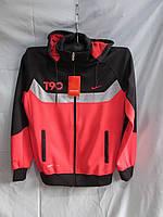 Спортивный костюм оптом красно-черный из эластана, фото 1