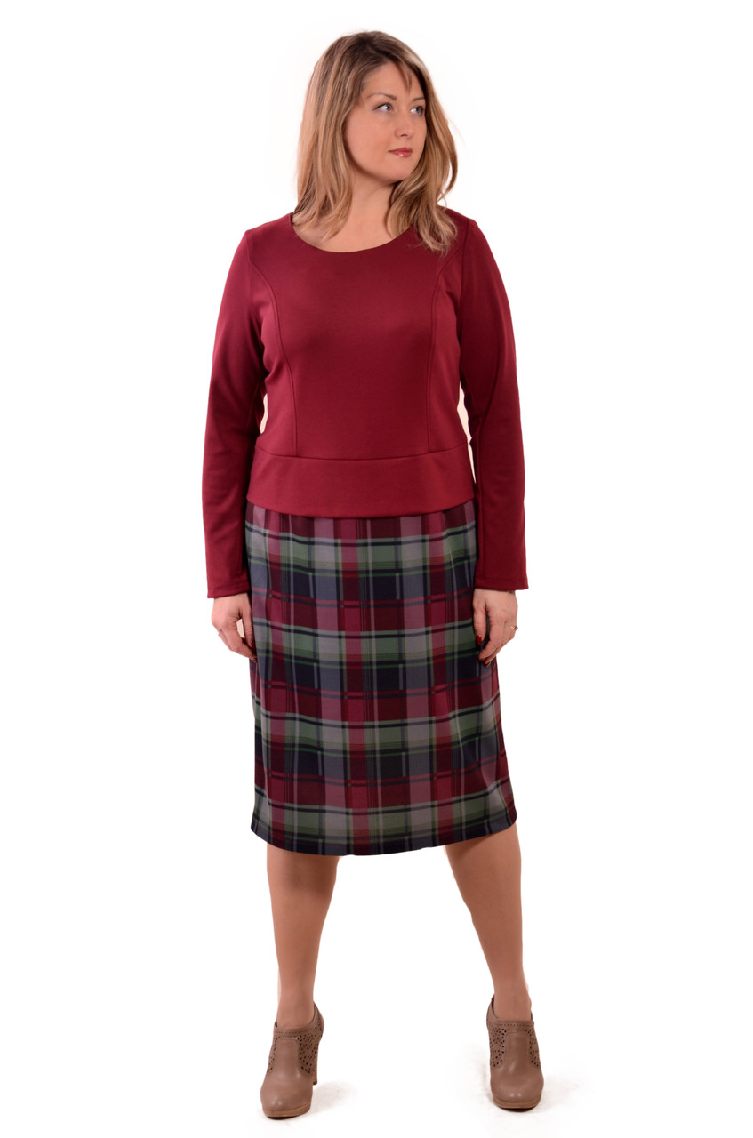 Платье костюм марсала бордо большие размеры на пышных дам женское нарядное теплое джерси пл  105-3. 54 и 56 р