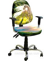 Кресло Бридж Хром Дизайн 13 Единорог.
