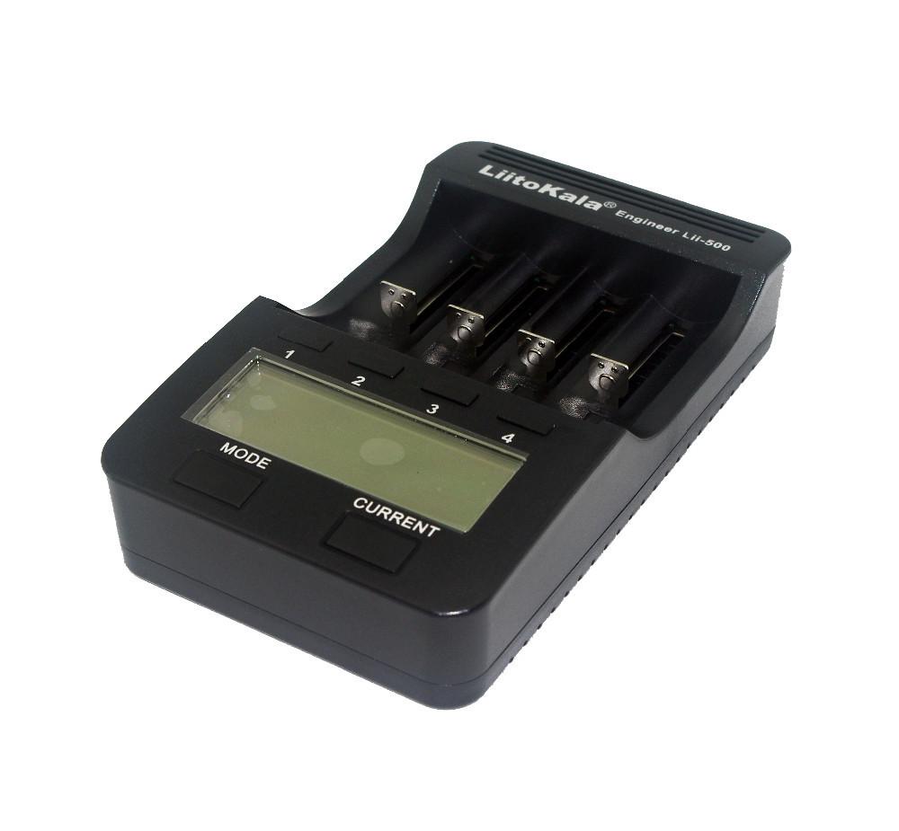 Liitokala Lii-500 NiMH универсальное зарядное для всех видов аккумуляторов Li-Pol, Ni-Mh: 18650, АА, ААА и т.д