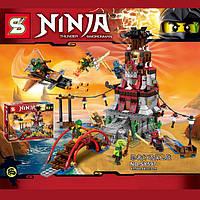 """Конструктор Ninja SY597 (аналог Lego Ninjago 70594) """"Осада маяка"""""""