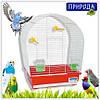 """Клетка Природа """"Лина"""" для птиц 44 см/27 см/54 см"""