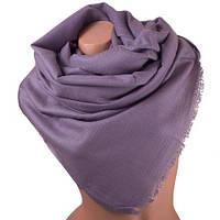 Женский стильный шерстяной палантин 205 на 71 см ETERNO (ЭТЕРНО) SAT48021 фиолетовый