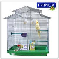"""Клетка Природа """"Нимфа"""" хром для птиц 70 см/40 см/76 см, фото 1"""