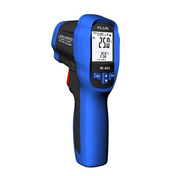 FLUS IR-823 Пірометр з термопарою К-типу 30:1 (-50…+1350 ºС)