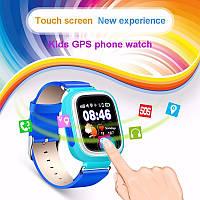 Детские Smart часы Q100-Vibro, GPS, Wi-Fi, cенсор,