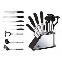 Набор ножей PETERHOF PH - 22382 с кухонными принадлежностями 2 в 1, фото 1