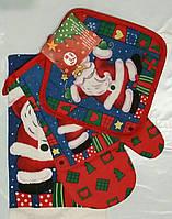 Новогодний набор для кухни с Дедом морозом