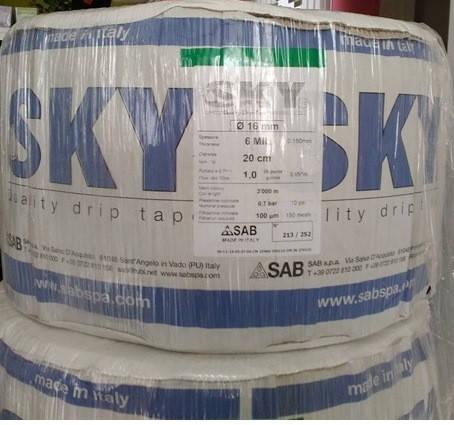 Капельная лента Skytape 5 mil/20 см, водовылив 5 л/час, (3800 м), фото 2