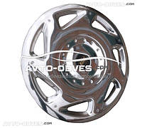 """Колпаки 16"""" для Opel Vivaro, нержавейка"""