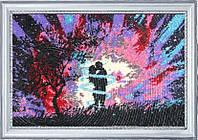 Набор для вышивки бисером Поцелуй на закате 468