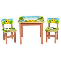 "Столик+2 стульчика ""Африка"" от Bambi"