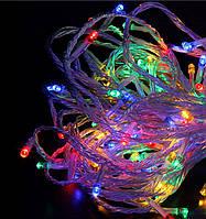 Гирлянда диодная 400 LED, разноцветная