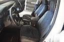 Авточехлы экокожа с двойной строчкой для Chevrolet Lanos., фото 6