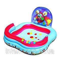 Bestway 91015 Надувной игровой центр Микки Маус с кольцами и мячами