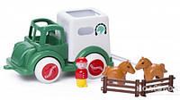 Viking Toys 25 см Машина для перевозки лошадей 1259 Вантажівка для перевезення коней