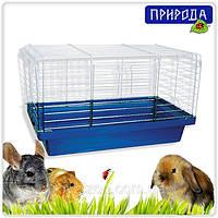 """Клетка Природа """"Кролик"""" хром для крупных грызунов, фото 1"""