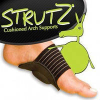 Стельки Strutz Cushioned arch supports - полустельки