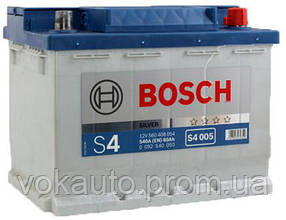 "Аккумулятор Bosch S4 Silver 60Ah, EN 540 правый ""+"" 242x175x190 (ДхШхВ)"