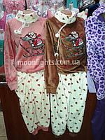 """Женская пижама из полированной махры """"Animals"""""""